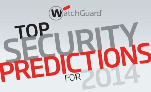 """Click on the image to download the """"2014 Security Predictions Infographic."""""""